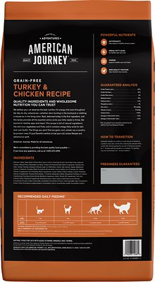 American Journey All Life Stages Turkey & Chicken Recipe Grain-Free Dry Cat Food