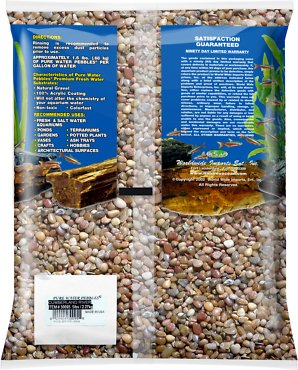 Pure Water Pebbles Natural Aquarium Gravel