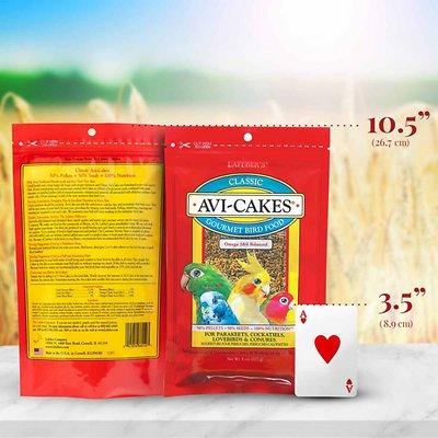 Lafeber Classic Avi-Cakes Small Bird Food