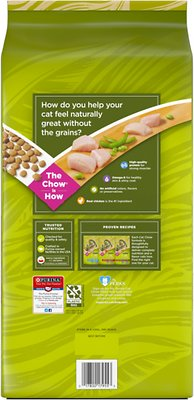 Cat Chow Naturals Grain-Free with Real Chicken Dry Food