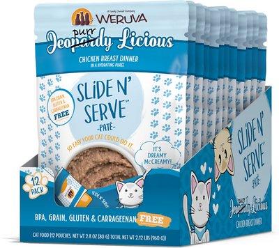 WERUVA Slide N' Serve Jeopurrdy Licious Dinner Pouches