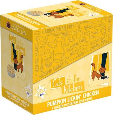 Weruva Cats in the Kitchen Pumpkin Lickin' Chicken in Pumpkin Soup Grain-Free Cat Food Pouches