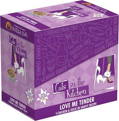 Weruva Cats in the Kitchen Love Me Tender Chicken & Duck Recipe Grain-Free Cat Food