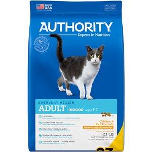 Authority Indoor Chicken & Rice Formula Adult Dry Cat Food