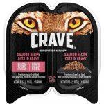 Crave Salmon Recipe Cuts in Gravy