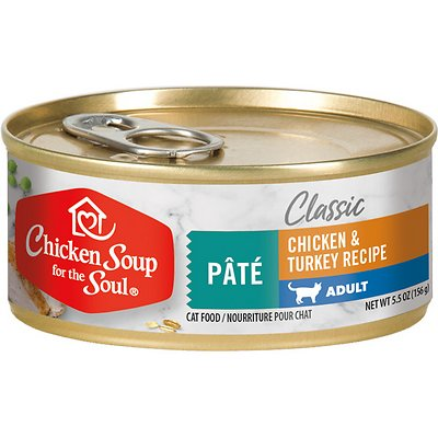 Chicken Soup for the Soul Classic Chicken & Turkey Pate Adult Canned Food