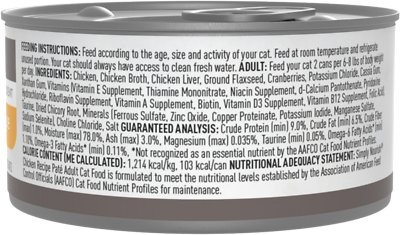 Simply Nourish Essentials Chicken Recipe Adult Pate Canned Cat Food