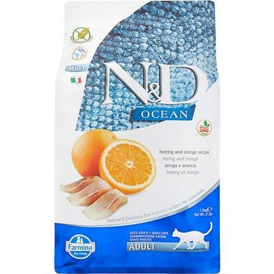 Farmina Natural & Delicious Ocean Herring & Orange Adult Dry Food