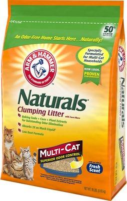 Arm & Hammer Litter Naturals Scented Clumping Corn Cat Litter