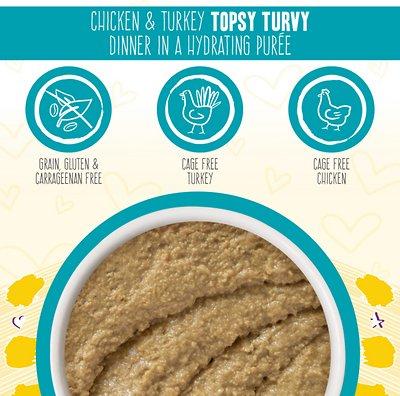 WERUVA BFF Play Pate Lovers Chicken & Turkey Topsy Turvy Wet Cat Food
