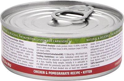 Farmina Natural & Delicious Prime Feline Chicken & Pomegranate Kitten Recipe Canned Food