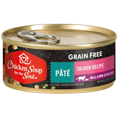 Chicken Soup for the Soul Grain-Free Salmon Pate Recipe Canned Food