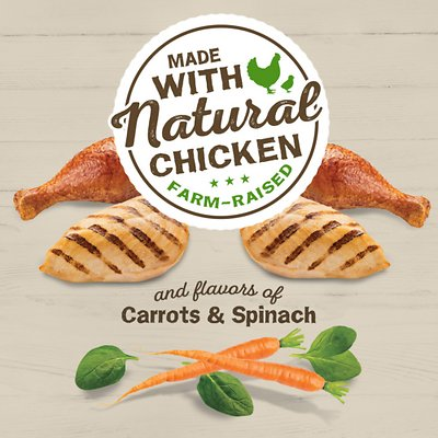 FRISKIES Farm Favorites Chicken, Carrots & Spinach Dry Food