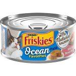 FRISKIES Ocean Favorites Pate with Salmon, Brown Rice & Peas