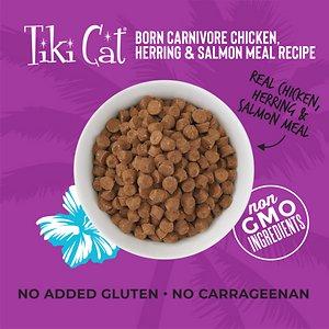 Tiki Cat Born Carnivore Chicken & Herring Grain-Free Dry Cat Food