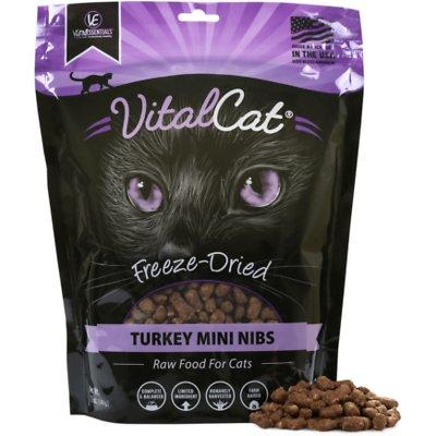 VITAL ESSENTIALS  Turkey Mini Nibs Freeze-Dried Cat Food
