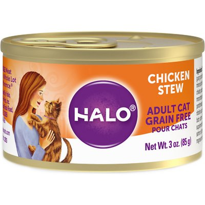 HALO Chicken Stew Grain-Free Adult Canned Food