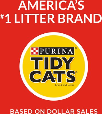 Tidy Cats 24/7 Performance Scented Non-Clumping Clay Cat Litter