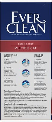 Ever Clean Multi-Cat Fresh Scented Clumping Clay Cat Litter