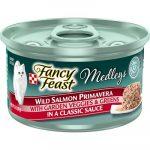 Fancy Feast Medleys Wild Salmon Primavera Canned Cat Food