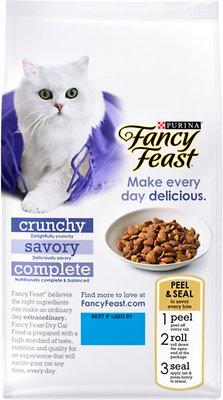Fancy Feast Gourmet Savory Chicken & Turkey Dry Cat Food