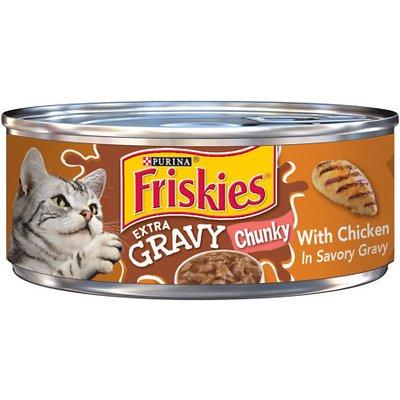 FRISKIES Extra Gravy Chunky with Chicken in Savory Gravy