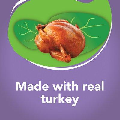 FRISKIES Indoor Meaty Bits Homestyle Turkey Dinner with Garden Greens