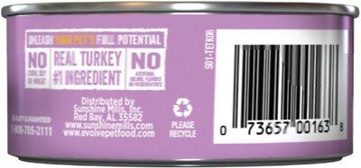 EVOLVE Classic Kitten Turkey Recipe Canned Cat Food