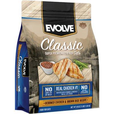 EVOLVE Classic Deboned Chicken & Brown Rice Recipe Dry Food