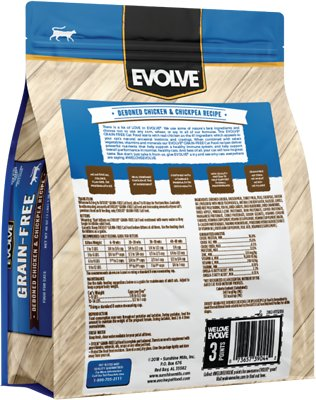EVOLVE Chicken, Pea & Sweet Potato Recipe Grain-Free Kitten Food