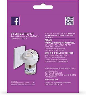 Feliway 30 Day Starter Kit Plug-In Diffuser & Refill