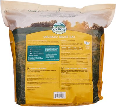 Oxbow Orchard Grass Hay Small Animal Food