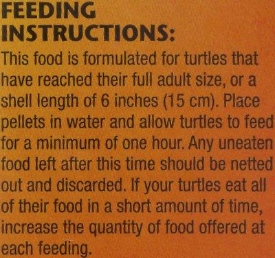 Zoo Med Natural Aquatic Maintenance Formula Turtle Food