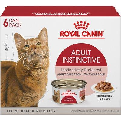 Royal Canin Feline Health Nutrition Adult Instinctive Thin Slices in Gravy Wet Food