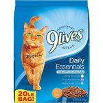 9Lives Daily Essentials with Chicken, Beef, & Salmon Flavor Dry Food
