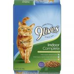 9 Lives Indoor Complete with Chicken & Salmon Flavor Dry Food