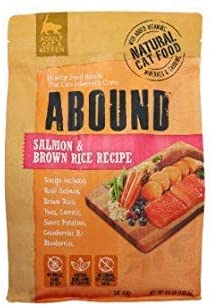 Abound Salmon & Brown Rice Recipe Adult Cat Food