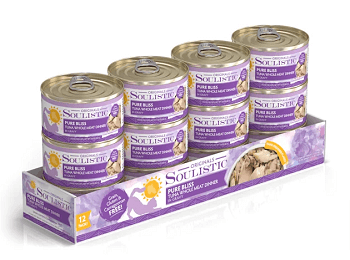 Soulistic Originals Pure Bliss Tuna Whole Meat Dinner in Gravy Canned Cat Food