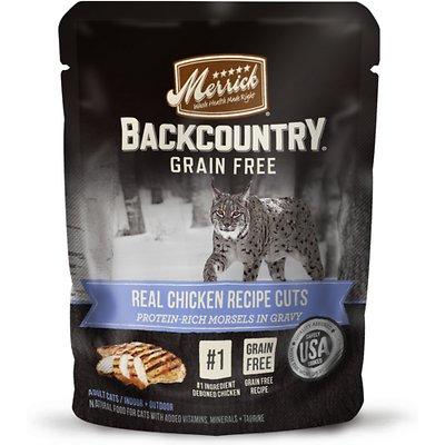 MERRICK Backcountry Grain-Free Real Chicken Recipe Cuts
