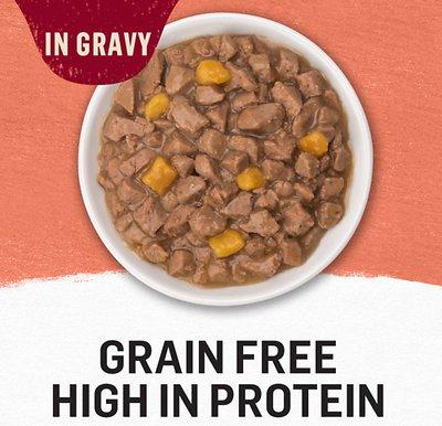 PURINA Beyond Grain-Free Salmon & Sweet Potato Recipe in Gravy