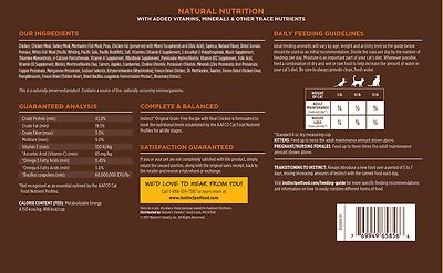 INSTINCT BY NATURE'S VARIETY Original Grain-Free Recipe with Real Chicken Dry Food