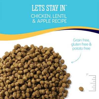 SOLID GOLD Let's Stay In Chicken, Lentil & Apple Adult Indoor Recipe