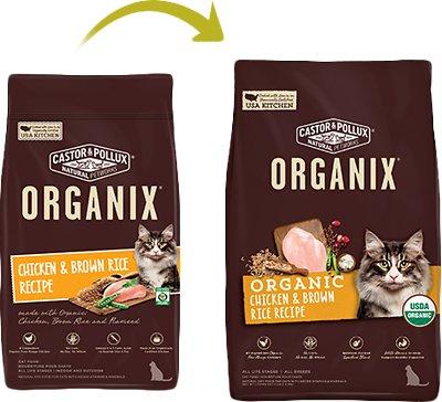 CASTOR & POLLUX Organic Chicken & Brown Rice Recipe