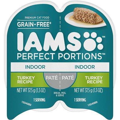 IAMS Perfect Portions Indoor Pate Turkey Recipe