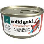 SOLID GOLD Flavorful Feast Kitten Recipe Chicken Pate