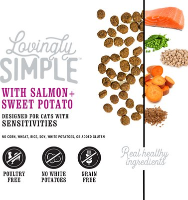 I AND LOVE AND YOU Lovingly Simple Salmon & Sweet Potato Recipe Dry Food