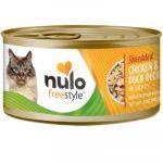 NULO Freestyle Shredded Chicken & Duck in Gravy Grain-Free Canned Food