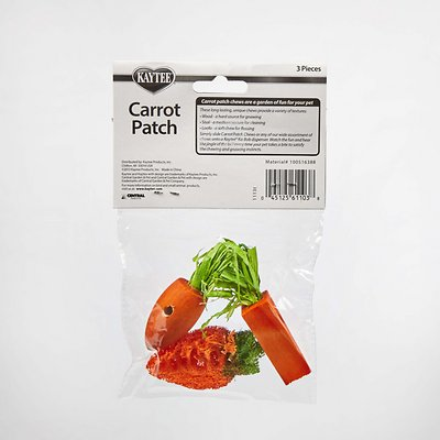 Kaytee Carrot Patch Variety Small Animal Chew Toy