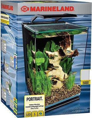 Marineland Portrait Blade Light Aquarium Kit