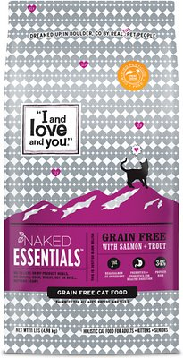 I AND LOVE AND YOU Naked Essentials Salmon + Trout Dry Cat Food
